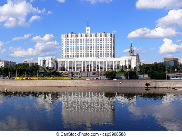 House of government of Russian Federation - csp3908588