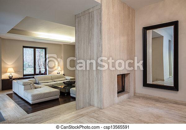 Casa Travertine: pasillo - csp13565591