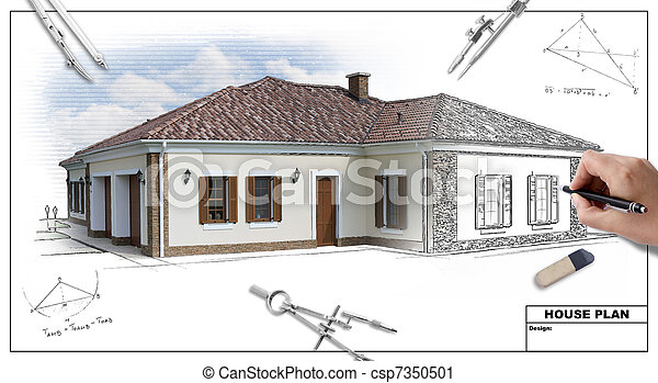 House plan 2 - csp7350501