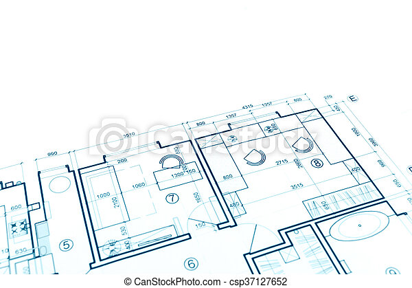 House plan blueprint construction plan part of architectural house plan blueprint construction plan part of architectural project csp37127652 malvernweather Choice Image