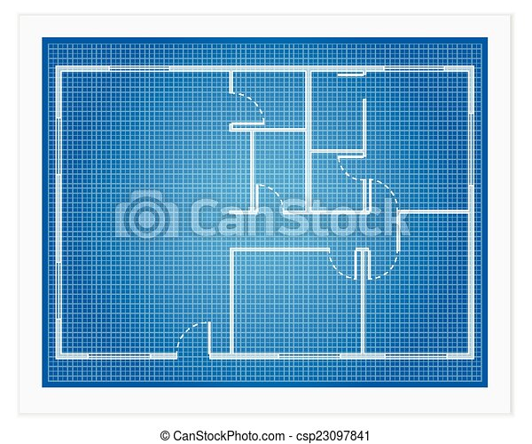 House Plan Blueprint   Csp23097841