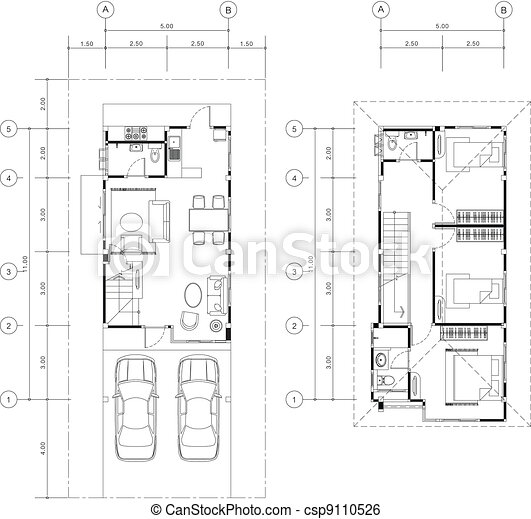 House plan vector . House plan vector clip art vector - Search ...