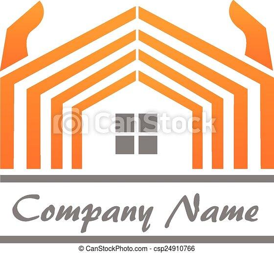 House Real Estate logo - csp24910766