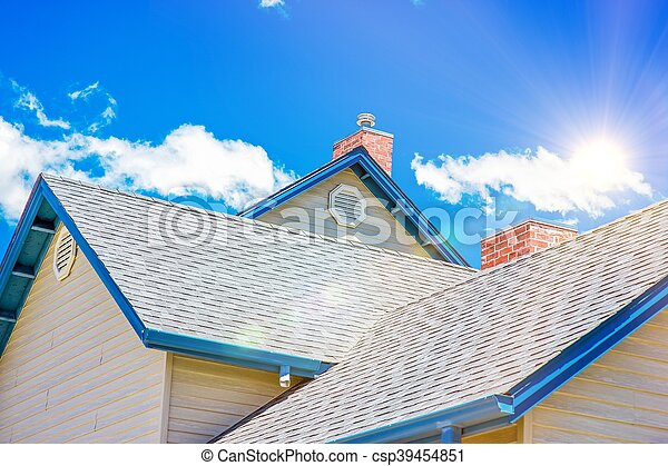 House Roof Roofing Business - csp39454851