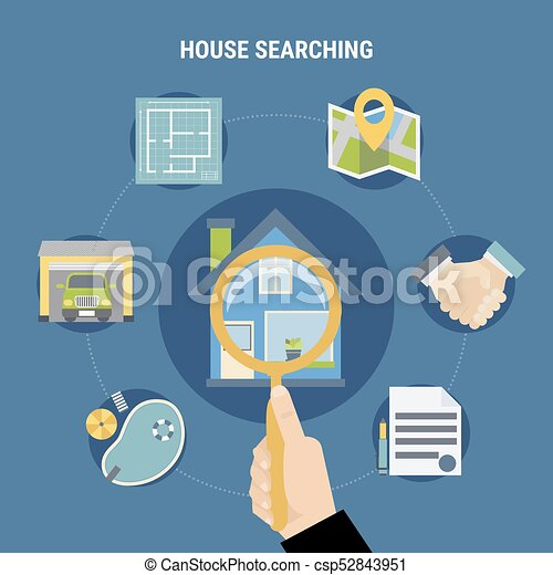 House Searching Concept - csp52843951