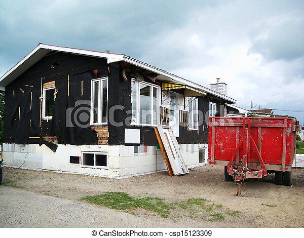 House siding removal - csp15123309
