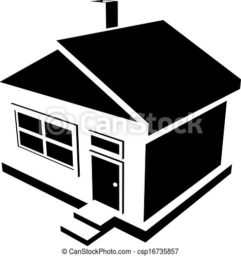 house silhouette vector silhouette of a house