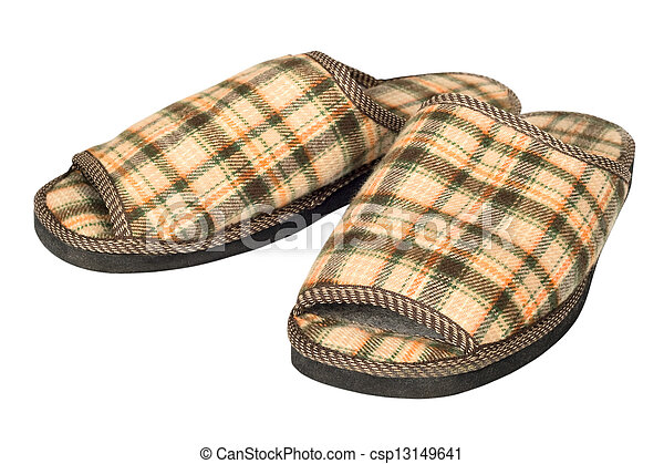 house slippers - csp13149641