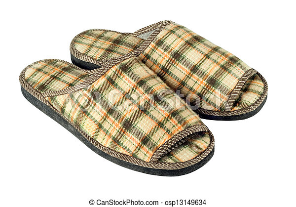 house slippers - csp13149634