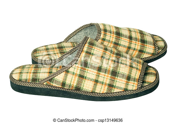 house slippers - csp13149636