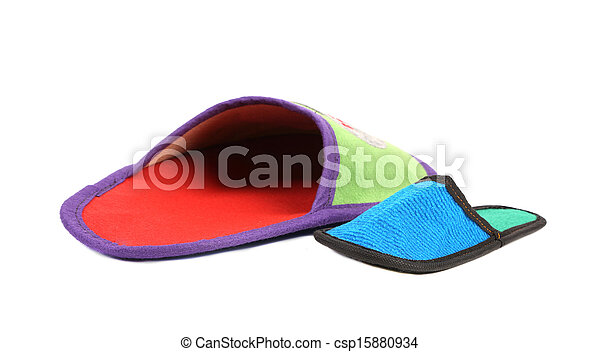 House slippers. - csp15880934