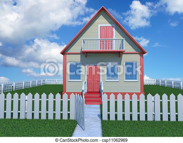 house - csp11062969
