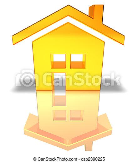 House - csp2390225