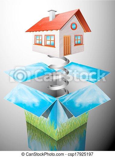 House surprise - csp17925197