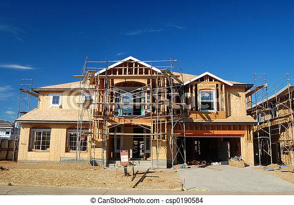 House under construction - csp0190584