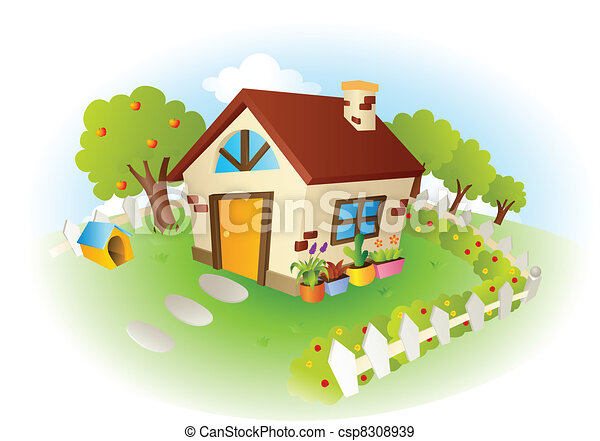 House vector illustration - csp8308939