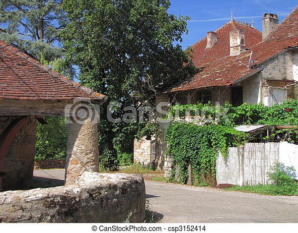 house, village, - csp3152414