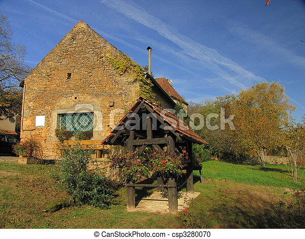 House, well - csp3280070