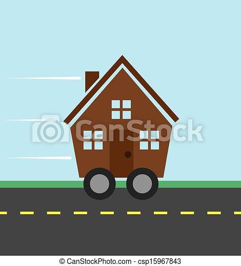 House Wheels  - csp15967843