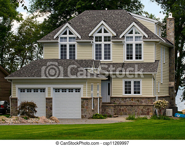 Brick house with siding good painting our houseus for House siding reviews