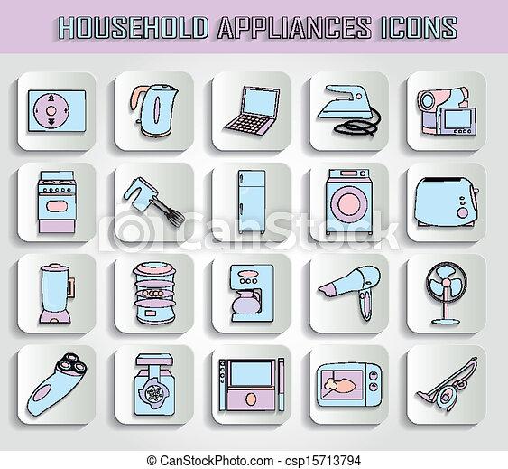 household appliances - csp15713794
