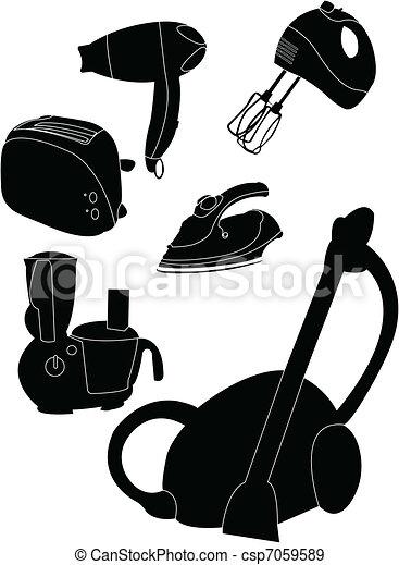 Household appliances - csp7059589