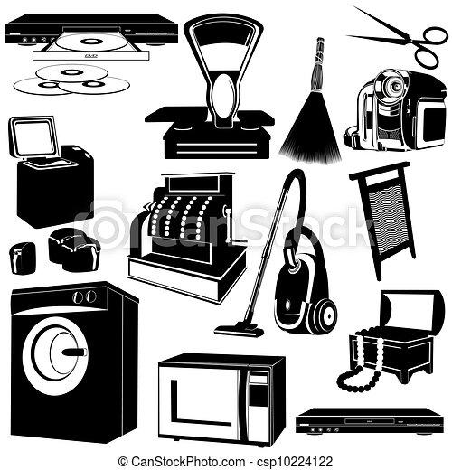 Household appliances - csp10224122