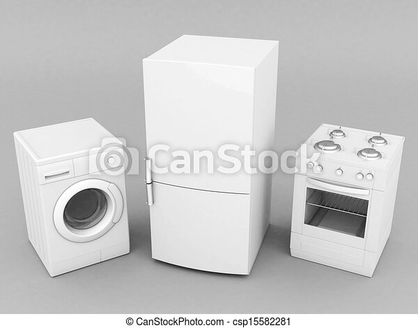 household appliances - csp15582281