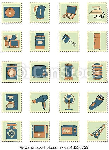 household appliances - csp13338759