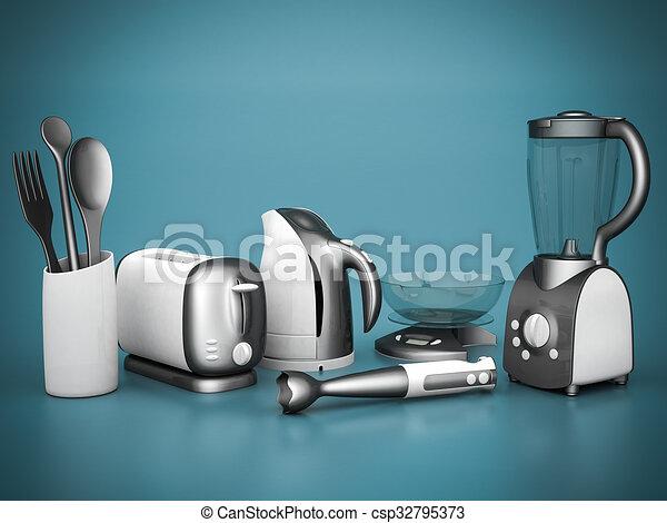 household appliances - csp32795373