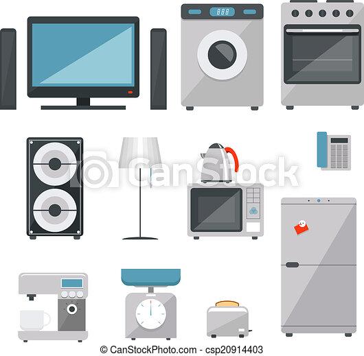 household appliances - csp20914403
