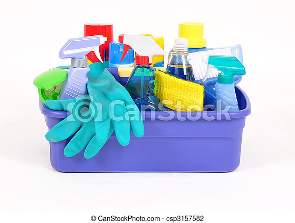 Household cleaning products - csp3157582