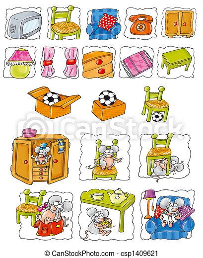 Household items - csp1409621