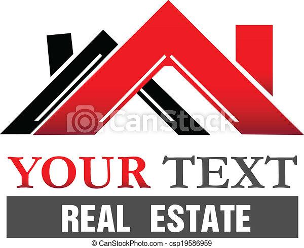 Houses logo - csp19586959
