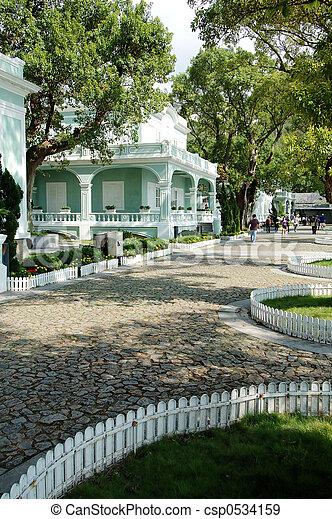 houses-museum, macao - csp0534159