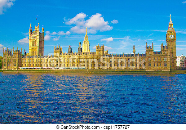 Houses of Parliament, London - csp11757727