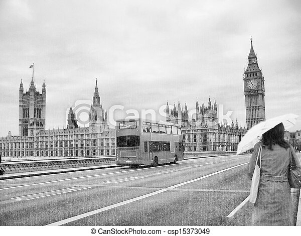 Houses of Parliament, London - csp15373049