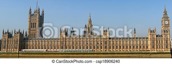 Houses Of Parliament - London - csp18906240