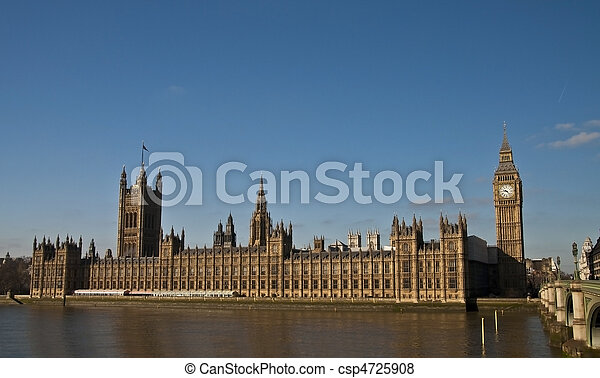 houses of parliament - csp4725908