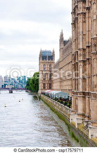 Houses of Parliament Westminster Palace London - csp17579711