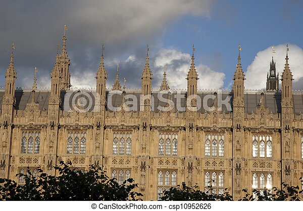 Houses of Parliament; Westminster; London; England; UK - csp10952626