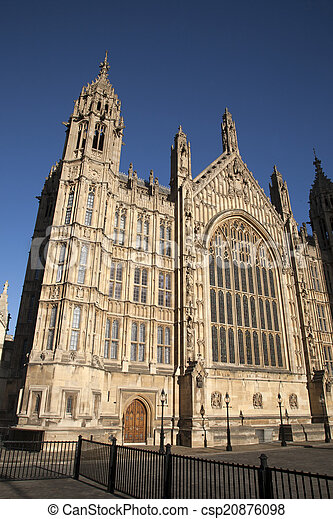 Houses of Parliament, Westminster; London - csp20876098