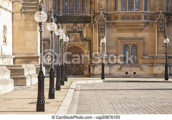 Houses of Parliament, Westminster; London - csp20876103