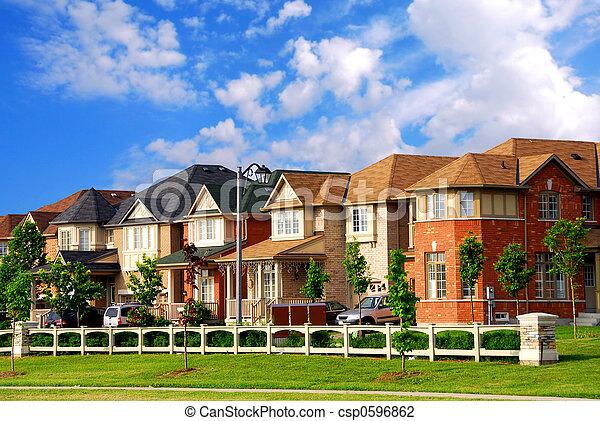 Houses - csp0596862