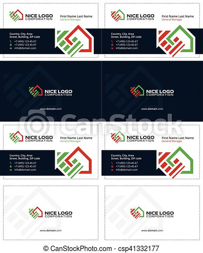 Housetop business card 1 auction and real estate business cards housetop business card 1 csp41332177 reheart Image collections