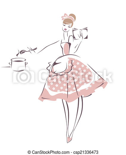 Housewife - csp21336473