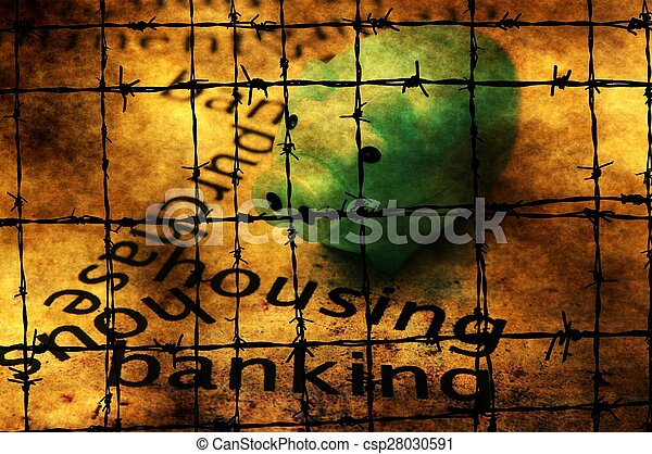 Housing banking concept - csp28030591