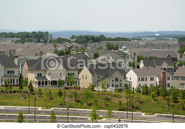 Housing Complex Community - csp0432879