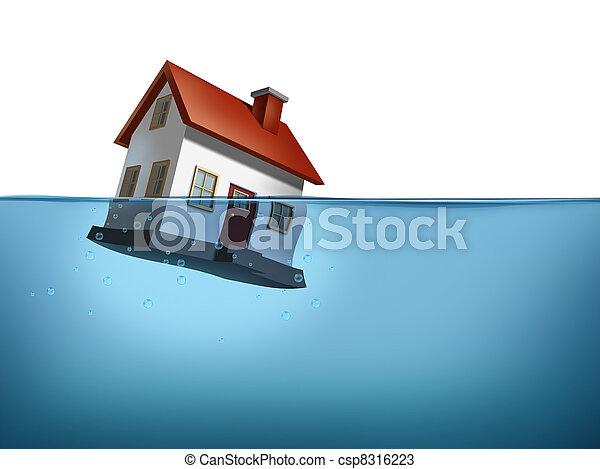Housing Crisis - csp8316223