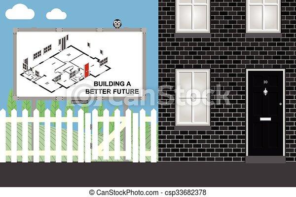 Housing development - csp33682378